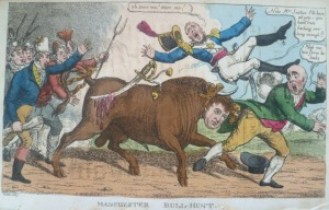 Charles Williams, Manchester Bull-Hunt,  1819