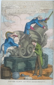 Charles Williams, Dover Cliff or the Bomb Remove, 1820